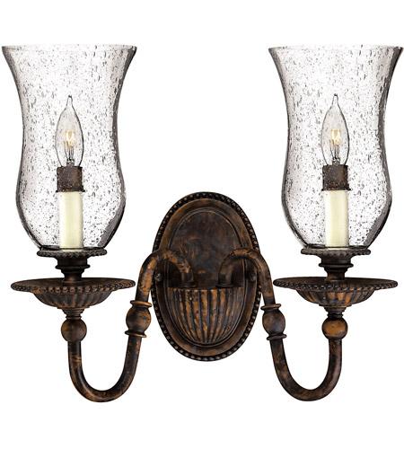 Hinkley Lighting Rockford 2 Light Sconce in Forum Bronze 4622FB