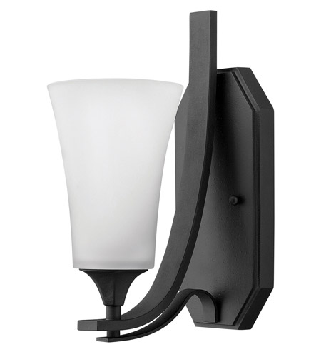 Hinkley Lighting Brantley 1 Light Sconce in Textured Black 4630TB