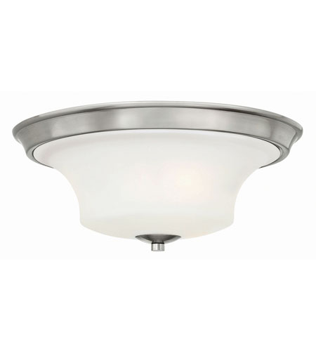 Hinkley Lighting Brantley 2 Light Bath in Brushed Nickel 4631BN-LED