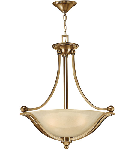 Hinkley Lighting Bolla 3 Light Hanging Foyer in Brushed Bronze 4652BR photo