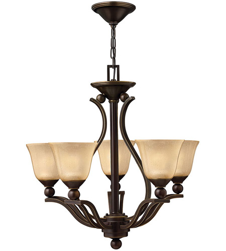 Hinkley Lighting Bolla 5 Light Chandelier in Olde Bronze 4655OB photo
