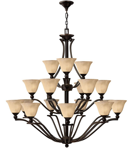 Hinkley Lighting Bolla 18 Light Chandelier in Olde Bronze 4659OB