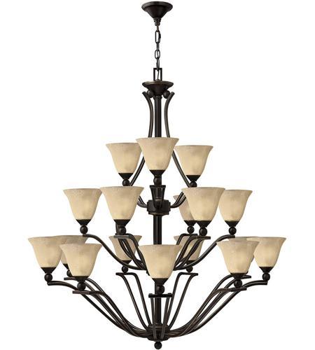 online retailer 55d63 b7d81 Hinkley 4659OB Bolla 18 Light 48 inch Olde Bronze Foyer Chandelier Ceiling  Light in Light Amber Seedy, 3 Tier