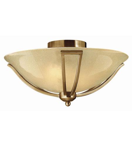 Hinkley Lighting Bolla 2 Light Foyer in Brushed Bronze 4660BR-LED