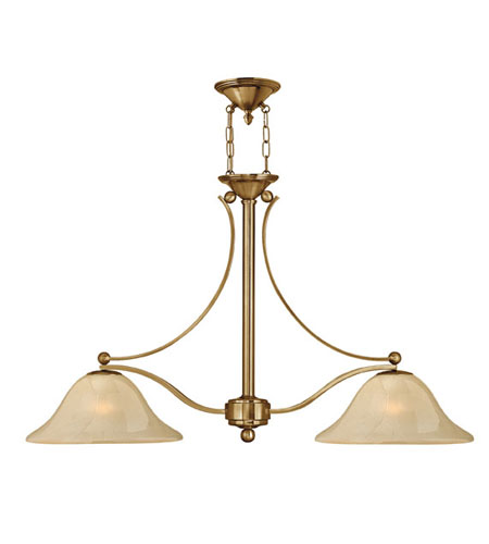 Hinkley Lighting Bolla 2 Light Chandelier in Brushed Bronze 4662BR