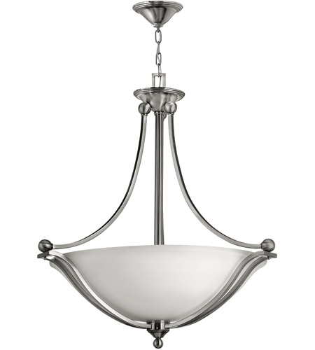 Hinkley Lighting Bolla 4 Light Hanging Foyer in Brushed Nickel 4664BN photo