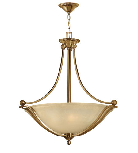Hinkley Lighting Bolla 4 Light Hanging Foyer in Brushed Bronze 4664BR photo