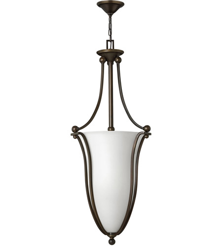 Hinkley Lighting Bolla 6 Light Foyer in Olde Bronze 4665OB-OPAL