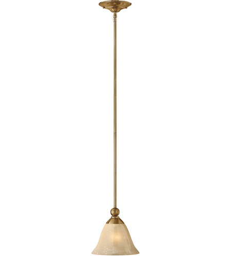Hinkley 4667BR Bolla 1 Light 8 inch Brushed Bronze Mini-Pendant Ceiling Light in Light Amber Seedy, Incandescent photo