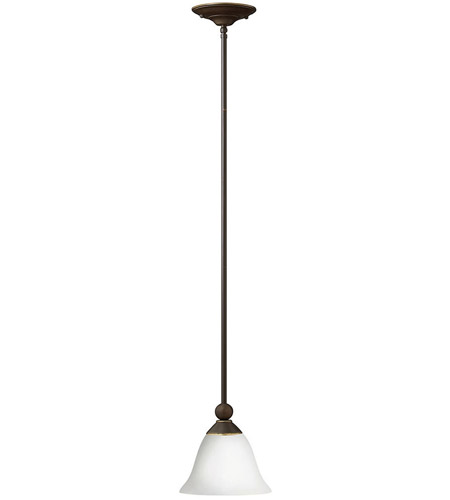 Hinkley 4667OB-OPAL Bolla 1 Light 8 inch Olde Bronze Mini-Pendant Ceiling Light in Etched Opal, Incandescent photo