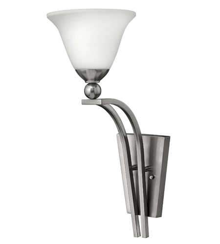Hinkley Lighting Bolla 1 Light Sconce in Brushed Nickel 4670BN