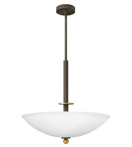 Hinkley Lighting Cooper 4 Light Hanging Foyer in Oil Rubbed Bronze 4682OZ photo
