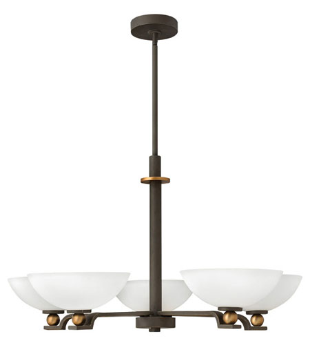 Hinkley Lighting Cooper 5 Light Chandelier in Oil Rubbed Bronze 4685OZ