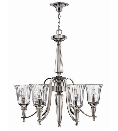 Hinkley Lighting Chandon 6 Light Chandelier in Sterling 4696SR