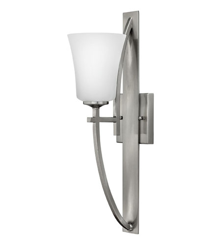 Hinkley Lighting Valley 1 Light Sconce in Brushed Nickel 4700BN