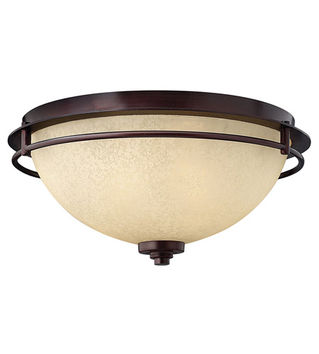 Hinkley Lighting Stowe 2 Light Flush Mount in Metro Copper 4721MC