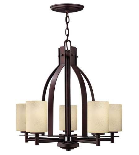 Hinkley Lighting Stowe 5 Light Chandelier In Metro Copper