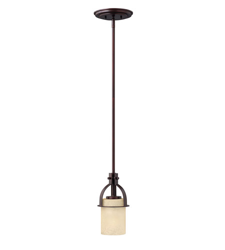 Hinkley Lighting Stowe 1 Light Mini-Pendant in Metro Copper 4727MC photo