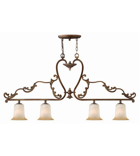 Hinkley Maribella Island 4Lt Chandelier in Royal Bronze 4764RY photo