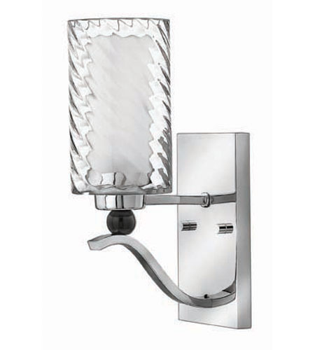 Hinkley Lighting Tides 1 Light Sconce in Chrome 4780CM