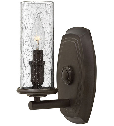 Hinkley Lighting Dakota 1 Light Sconce in Oil Rubbed Bronze 4780OZ