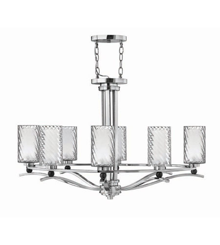 Hinkley Lighting Tides 8 Light Chandelier in Chrome 4784CM photo
