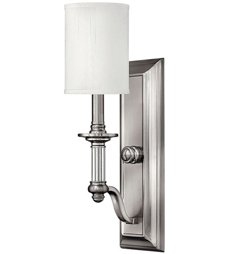 Hinkley 4790BN Sussex 1 Light 5 inch Brushed Nickel Sconce Wall Light  photo