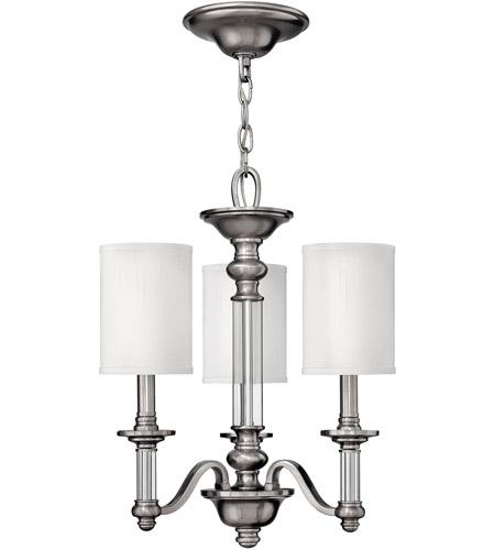 Hinkley 4793bn sussex 3 light 16 inch brushed nickel chandelier hinkley 4793bn sussex 3 light 16 inch brushed nickel chandelier ceiling light aloadofball Gallery