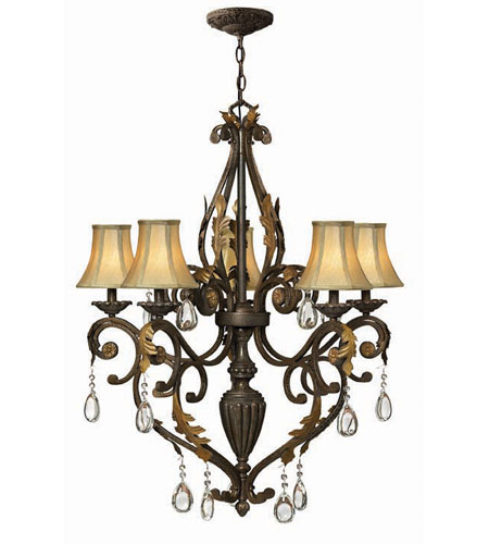 Hinkley Lighting Veranda 5 Light Chandelier in Summerstone 4805SU photo