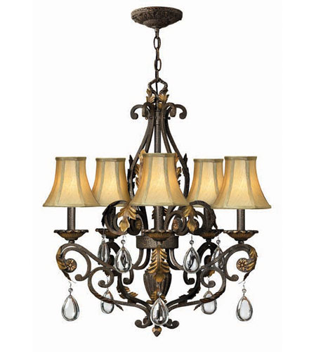 Hinkley Lighting Veranda 5 Light Chandelier in Summerstone 4806SU