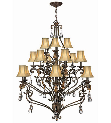 Hinkley Lighting Veranda 15 Light Chandelier in Summerstone 4807SU