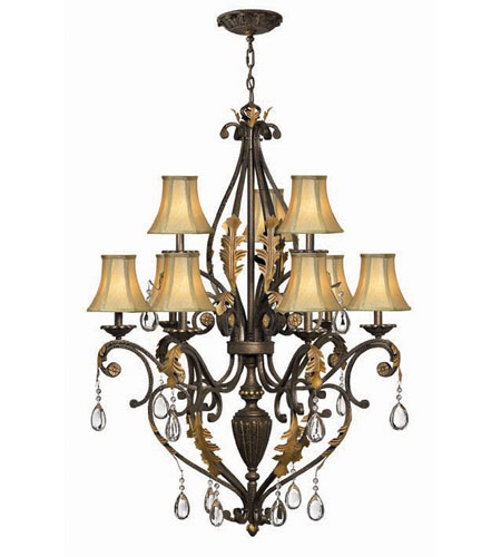Hinkley Lighting Veranda 9 Light Chandelier in Summerstone 4809SU photo