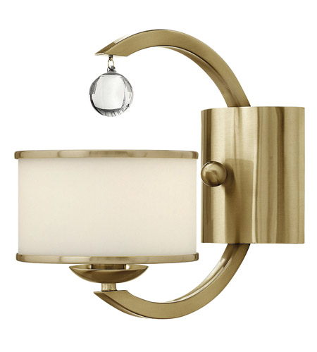 Hinkley Lighting Monaco 1 Light Sconce in Brushed Caramel 4850BC photo