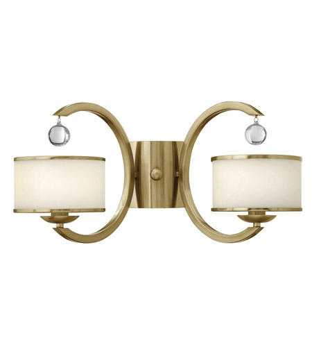 Hinkley Lighting Monaco 2 Light Sconce in Brushed Caramel 4852BC