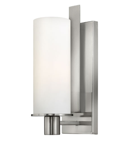 Hinkley Lighting Piper 1 Light Sconce in Brushed Nickel 4860BN