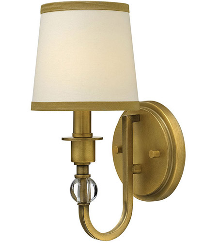 Hinkley 4870BR Morgan 1 Light 6 inch Brushed Bronze Sconce Wall Light photo