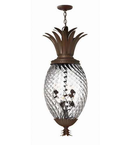 Hinkley Lighting Plantation 6 Light Hanging Foyer in Copper Bronze 4882CB photo