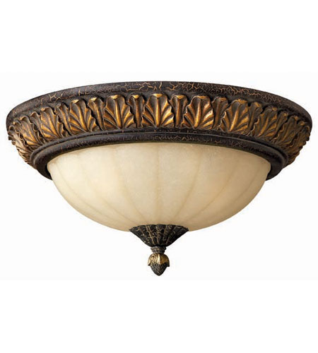 Hinkley Lighting Veranda 3 Light Flush Mount in Summerstone 4891SU photo
