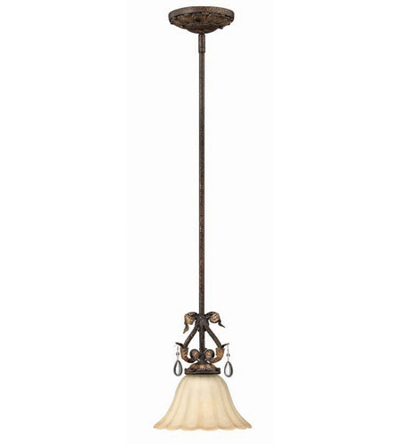 Hinkley Lighting Veranda 1 Light Mini-Pendant in Summerstone 4897SU photo