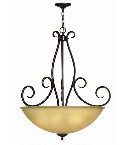 Hinkley Canyon Ridge Pendant 5Lt Foyer in Rustic Iron 4918RI photo