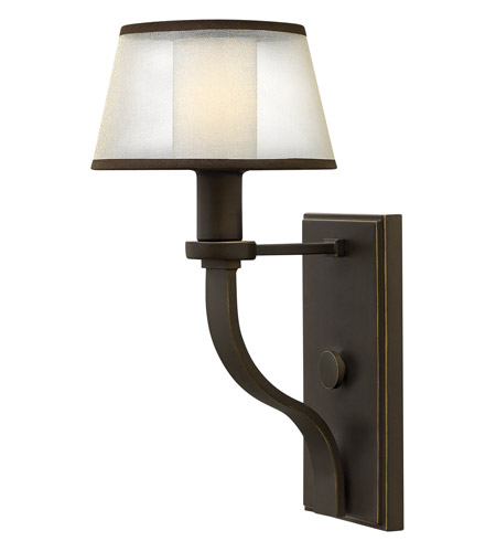 Hinkley 4960OB Prescott 1 Light 7 inch Olde Bronze Sconce Wall Light photo