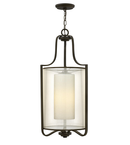 Hinkley Lighting Prescott 1 Light Foyer in Olde Bronze 4962OB photo