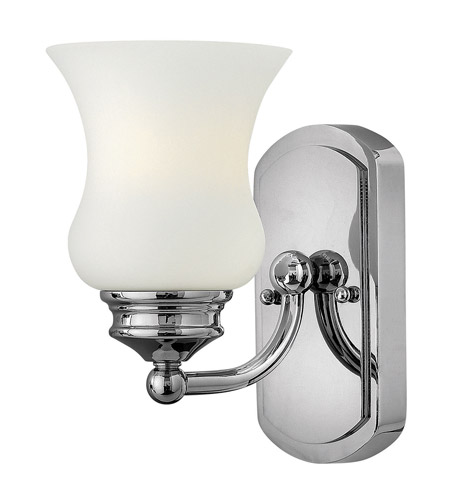 Hinkley 50010CM Constance 1 Light 5 inch Chrome Bath Vanity Wall Light photo