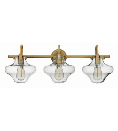 Hinkley Lighting Congress 3 Light Bath in Brushed Caramel 50031BC