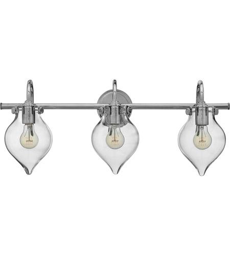 Hinkley Lighting Congress 3 Light Bath in Chrome 50037CM