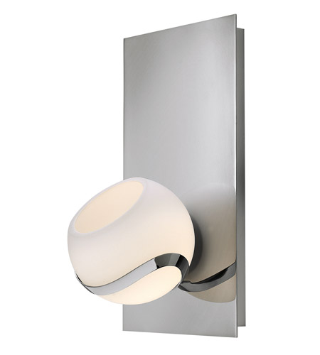 Hinkley 50100CM Nova 1 Light 6 inch Chrome Bath Wall Light photo