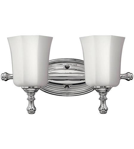 Hinkley 5012CM Shelly 2 Light 16 inch Chrome Bath Vanity Wall Light photo