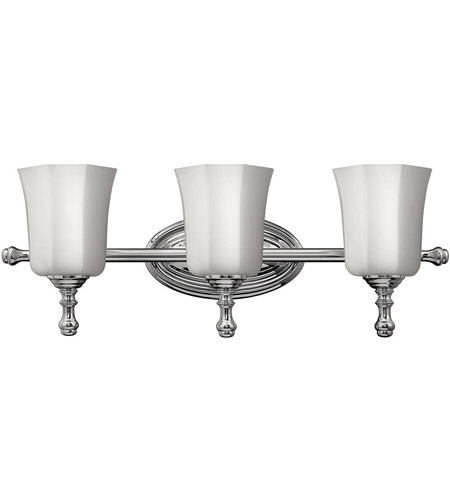 Hinkley 5013CM Shelly 3 Light 24 inch Chrome Bath Light Wall Light photo