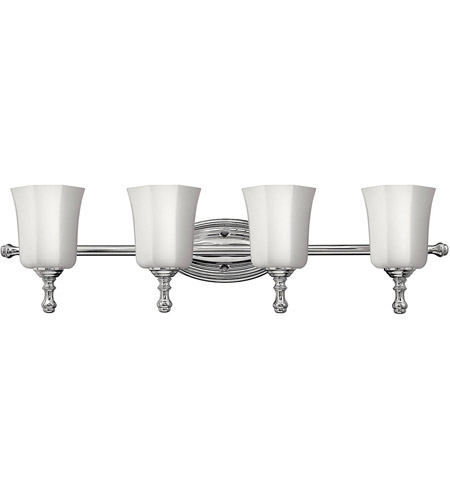 Hinkley Lighting Shelly 4 Light Bath Vanity in Chrome 5014CM photo