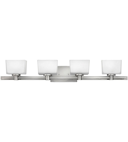 Hinkley Lighting Taylor 4 Light Bath Vanity in Brushed Nickel 5024BN photo